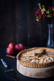 Traditional French apple tart Stock Photography
