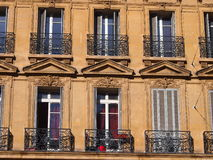 Traditional French architecture Stock Photography