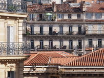 Traditional French architecture Royalty Free Stock Image