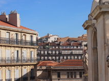 Traditional French architecture Royalty Free Stock Photo