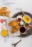 Traditional french breakfast Stock Photo