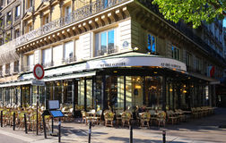 The traditional French cafe Deux Palais, Paris, France. Royalty Free Stock Photography