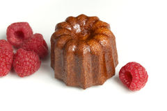 Traditional french cake canelé Stock Image