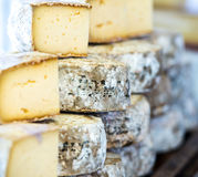 Traditional French cheese Stock Photos