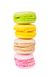 Traditional french colorful macaron Royalty Free Stock Images