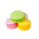 Traditional french colorful macaron Royalty Free Stock Photo