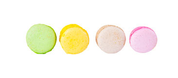 Traditional french colorful macaron Stock Image