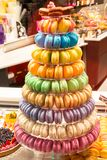 Traditional french colorful macarons Royalty Free Stock Image