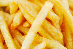 Traditional French fries Royalty Free Stock Photo