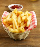 Traditional French fries Stock Image