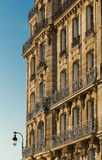 The Traditional French house Paris, France. Royalty Free Stock Photo