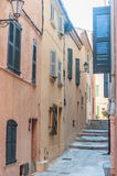 Traditional French houses royalty free stock photography