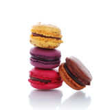 Traditional french macarons Royalty Free Stock Photo