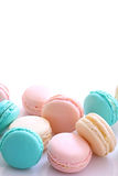 Traditional French macarons Royalty Free Stock Photography