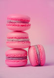 Traditional french macarons Royalty Free Stock Photos