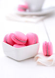 Traditional french macarons Royalty Free Stock Image