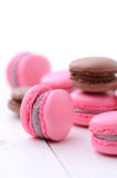 Traditional french macarons Stock Images