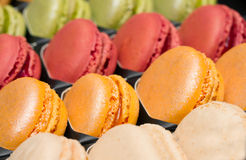 Traditional french macaroons Royalty Free Stock Photography