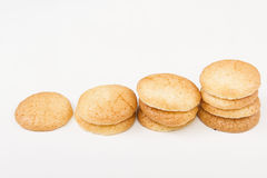 Traditional French macaroons stock photos