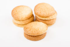 Traditional French macaroons royalty free stock images