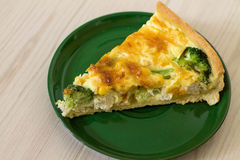 Traditional French quiche Lorraine Royalty Free Stock Photography