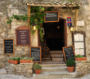 Traditional French restaurant Royalty Free Stock Images