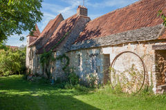 Traditional French stone farmhouse Stock Images