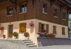 Traditional French village house Stock Images