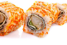 Traditional fresh japanese sushi Stock Image