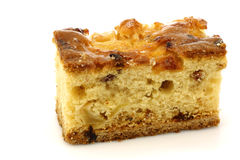 Traditional Frisian glazed cranberry cake Royalty Free Stock Photos