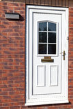 Traditional front doors Stock Photo