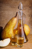 Traditional fruit brandy Royalty Free Stock Images