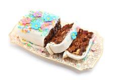 Traditional fruit cake Stock Image