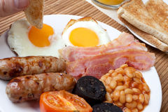 Free Traditional Full English Breakfast Royalty Free Stock Photography - 7758287