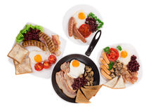 Traditional Full English Breakfast Royalty Free Stock Photo