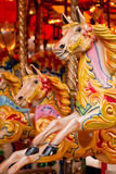 Traditional funfair carousel Royalty Free Stock Photo