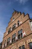 Traditional gable of an old house in Xanten Stock Photos