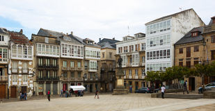 Traditional galician dwelling  architecture Royalty Free Stock Image
