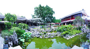 Traditional Garden in Litchi Bay in Guangzhou Stock Image