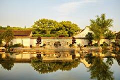 Traditional garden in Ningbo, China Royalty Free Stock Photos
