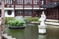 Traditional Garden,  Shanghai Royalty Free Stock Photos
