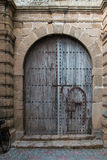 Traditional gate, Morocco Royalty Free Stock Images