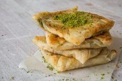 Free Traditional Gaziantep Dessert Katmer. Stock Photo - 77930530