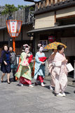 Gion Japan Royalty Free Stock Images