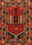 Traditional Geometric Ethnic Orient Antique Carpet Textile. Traditional Ethnic Orient Antique Carpet Textile Anatolia Ornaments Geometric styles royalty free stock image