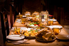 Traditional Georgian food stock images