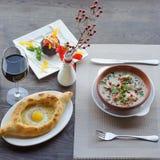Traditional Georgian food Stock Photography