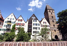 Traditional German architecture in Ulm Stock Images