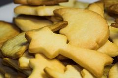 Traditional german christmas cookies Stock Images