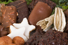Traditional German Christmas cookies Royalty Free Stock Photo